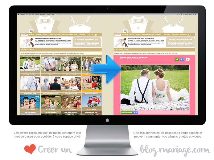 creation-blog-site-mariage-prive-acces-securise-photos-videos